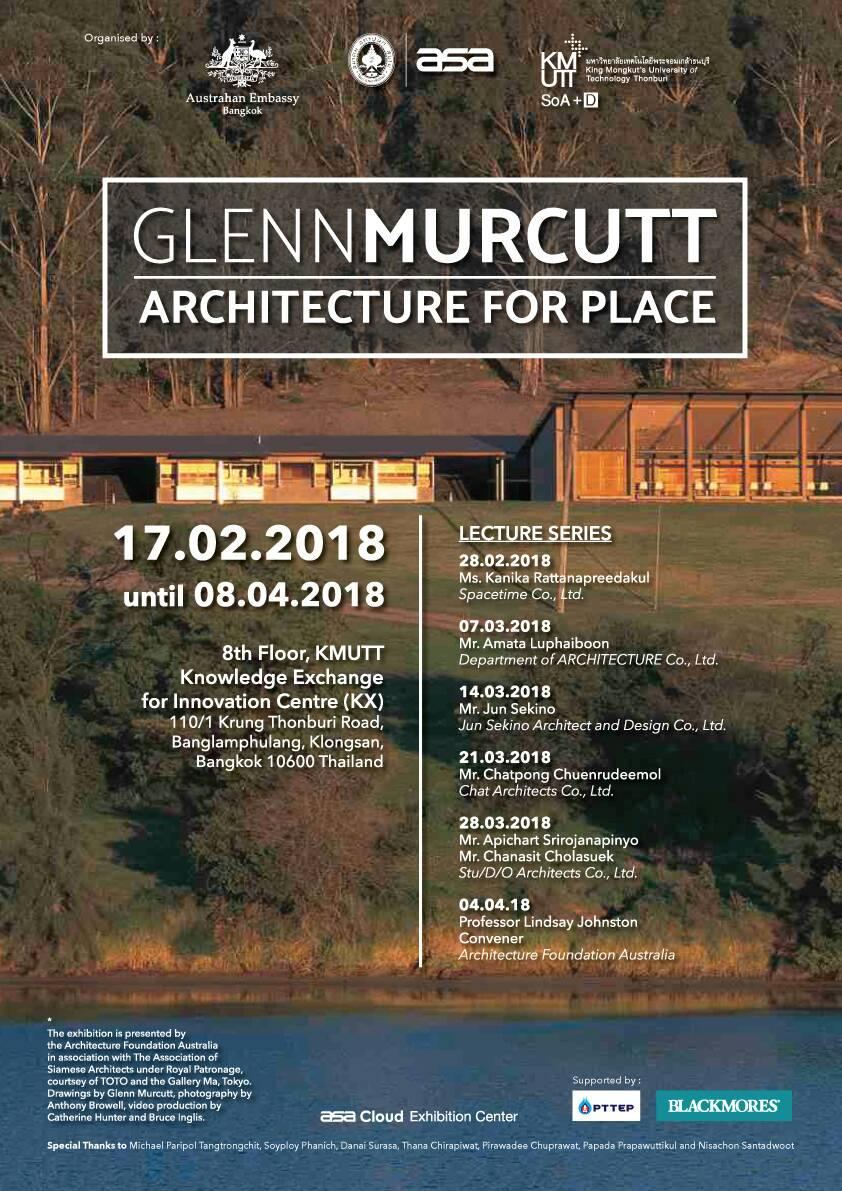 'GLEN MURCUTT' Architecture for place