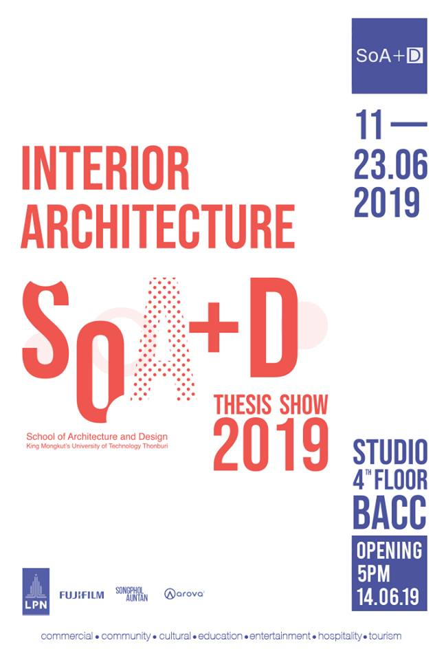 SoA+D Interior Architecture Thesis Show 2019